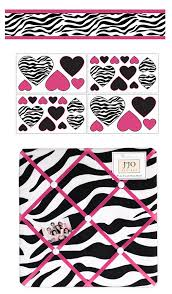 Zebra Print Crib Bedding Sets Hot Pink White U0026 Black Zebra Print Toddler Girl Comforter Bedding