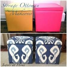 Diy Storage Ottoman Cube Ottomans With Storage Diy Storage Ottoman Makeover An Elegant