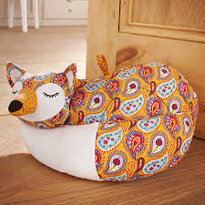 fox door stop by ulster weavers notonthehighstreet com door