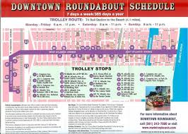 map of delray downtown roundabout trolley