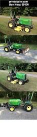 heavy equipments john deere 955 compact utility tractor w 70a