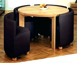 dining table with hidden chairs foldable dining table sets 3 to 6 6 folding dining table set