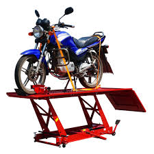 Motorcycle Bench Lift Foxhunter 1000lb Hydraulic Bike Motorcycle Motorbike Lift Bench