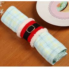 christmas napkin rings table linens 4pcs lot christmas belt buckle napkin rings napkin holder party