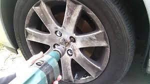 peugeot car wheels removing peugeot locking wheel bolts shear head security type