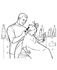 occupation coloring pages coloring home