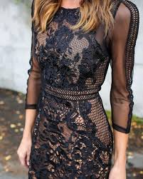 black lace dress how to wear black lace dress 12 best ideas fmag