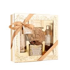 bath and gift sets vanilla muskcollection bath gift set square by guylond