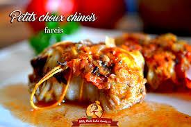 cuisiner un chou chinois petits choux chinois farcis petits plats entre amis