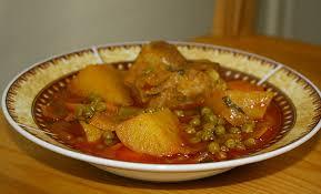 cuisine du maghreb recette jelbana petits pois à la tunisienne cuisine du maghreb