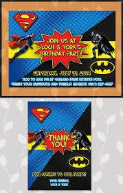 best 25 superman invitations ideas on pinterest superhero