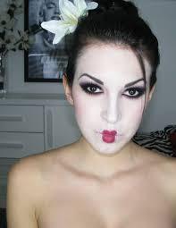 Halloween Geisha Makeup by Maquillaje De Geisha Geisha Makeup Tutorial U2013 Ssweetcriss