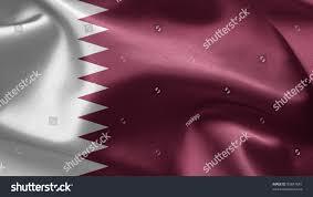 Flag Of Qatar Flag Qatar Stock Illustration 93847681 Shutterstock