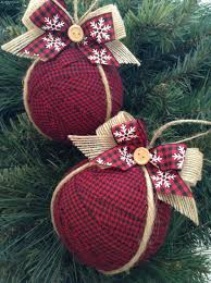 ornaments burlap ornaments awesome ideas for