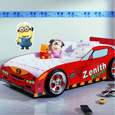 pink kid car despicable me minion kids bedroom decal wall window car sticker large