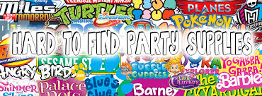 Barney Party Decorations Hard To Find Party Supplies Home Facebook