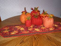 Fall Table Runners by L U0027il Pumpkins Project Completed Modern Sunbonnet Sue U0027s Musings