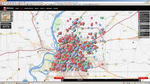 New Orleans Crime Map by Bartlett Area Memphis Covington Central City Hall Rentals