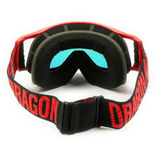 dragon motocross goggles new dragon mx vendetta merge fire red ionized tinted motocross goggles