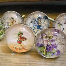 Bedroom Knobs And Pulls For Furniture Flower Fairy Glass Door Knobs Girls Bdrm Furniture Drawer Pulls