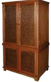 rattan and wicker tv cabinets tv armoires etegeres tropical