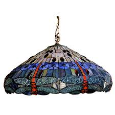 stained glass ceiling light fixtures tiffany style stained glass dragonfly ceiling pendant light