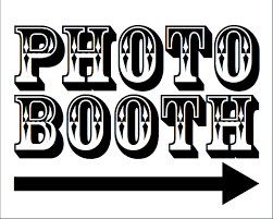 photo booth sign photo booth sign clipart clipartxtras