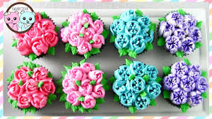 flower decorating tips russian piping tips flower cupcakes flower cake sugarcoder