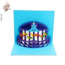 aliexpress buy luxury handmade pop up invitations 3d