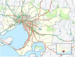 Victoria Bc Map File Australia Victoria Complete Melbourne Metropolitan Area