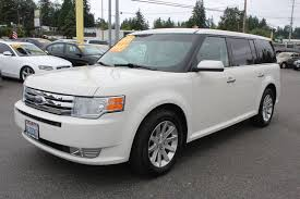 used 2010 ford flex sel everett wa the car connection