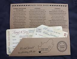 Wedding Invitations Cape Town World Map Giraffes U0026 South Africa Passport Stamps Antique Airline