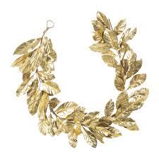 buy a by amara gold leaf garland amara