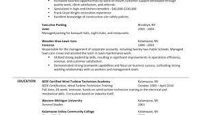 Parking Attendant Resume 100 Valet Parking Resume