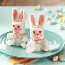easter bunny treats recipe taste of home
