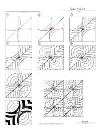 zentangle pattern trio 1577 best zentangle wonders images on pinterest doodles tangle