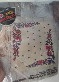 latch hook floral designs canvas and kits collection on ebay