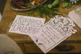 library halloween wedding ideas ruffled
