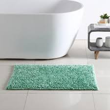 colormate sea foam shiny noodle bath rug