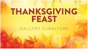 thanksgiving feast gallery furniture