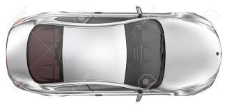 vehicle top view elegant sport coupe car top view stock photo picture and