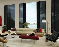 glass wall design for living room best large glamour living room design with glass wall and double