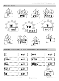 verb be grammar worksheets for kids learning english