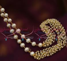 pearls necklace online images Nl7469 fresh water hyderabad pearls multi strand string beaded JPG