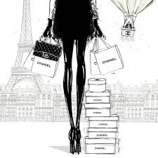 52 best chanel images on pinterest fashion illustrations draw