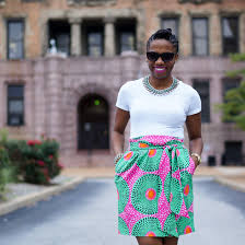 african print skirt on sale at anthropologie economy of style