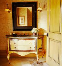 Small Powder Room Vanities - create a smashing powder room traditional home