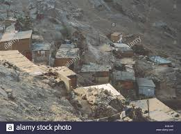 shanty town houses in lima peru stock photo royalty free image