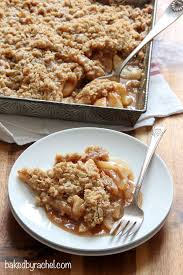 apple pear crumble apple pear crisp baked by rachel