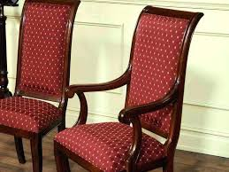 How To Upholster A Dining Chair Back Upholstering Dining Room Chair Backs Reupholstered Dining Room